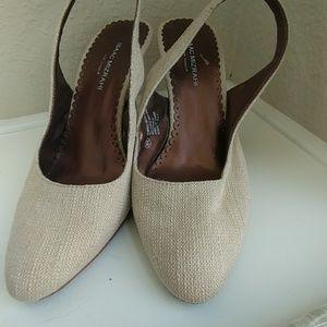 Isaac Mizrahi slingback heels
